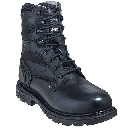 Thorogood Boots: Unisex 834-6448 Black Waterproof Insulated Work Boots,    #Boots,    #834-6448,    #ThorogoodBoots