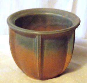 1926 Nelson McCoy Arts Crafts Pottery Mission Style Urn Flower Pot | eBay
