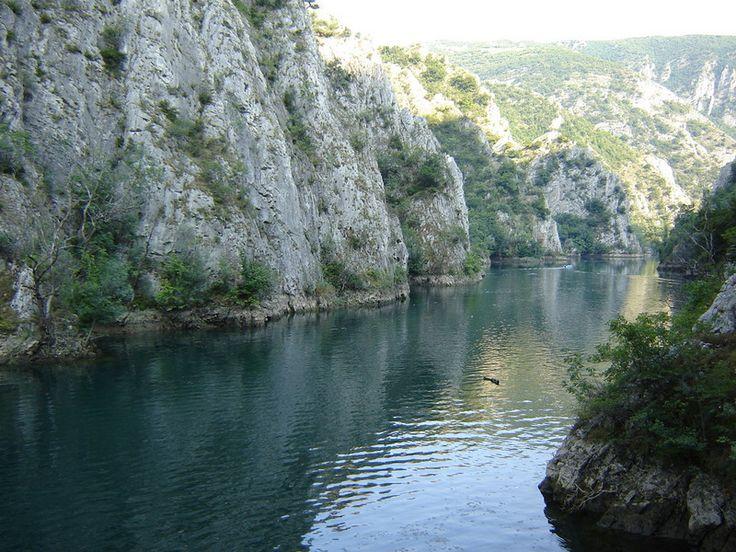 Matka-Lake - Matka Canyon - Wikipedia, the free encyclopedia
