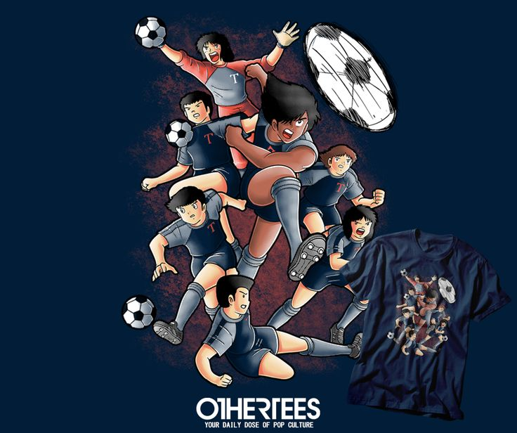 """TOHO FC"" by TRHEEWOOD T-shirts, Tank Tops, V-necks, Hoodies and Sweatshirts are on sale until October 7th at www.OtherTees.com #tshirt #othertees #clothes #popculture #football #tsubasa #anime #manga"