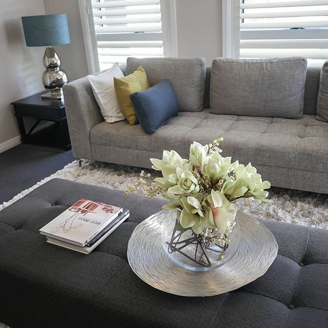 The beautiful lounge room in our Dubbo display.
