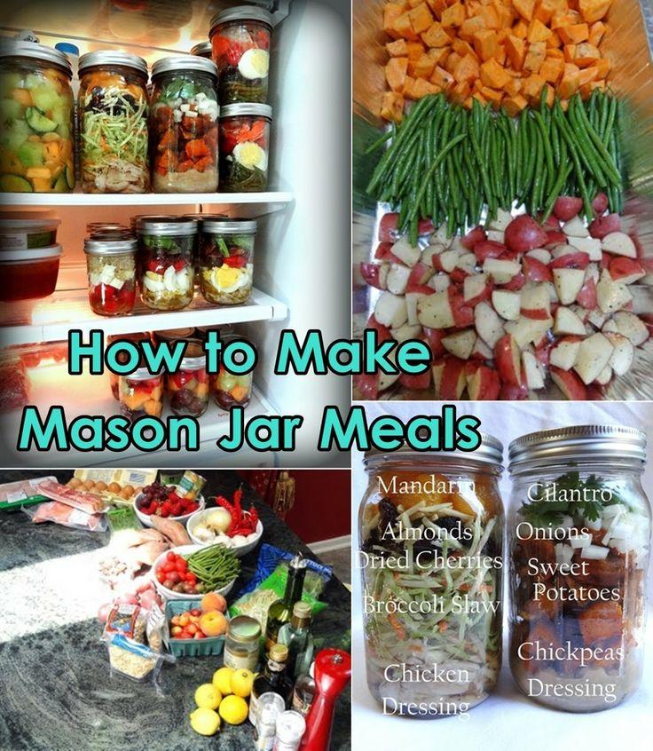 Diy Projects: DIY Mason jar Meals