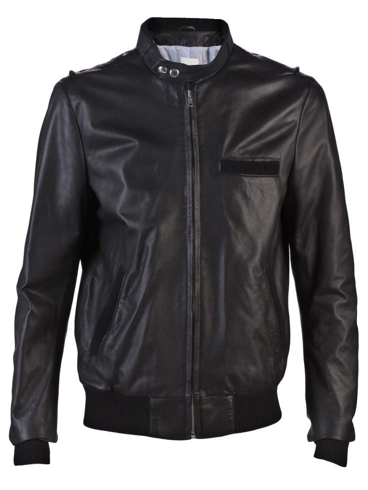 Band of Outsiders leather jacket Leather jacket, Jackets