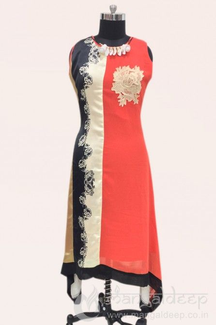 http://www.mangaldeep.co.in/latest-kurties/soothing-orange-georgette-party-wear-kurti-6341 For more details contact us : +919377222211 (whatsapp available)
