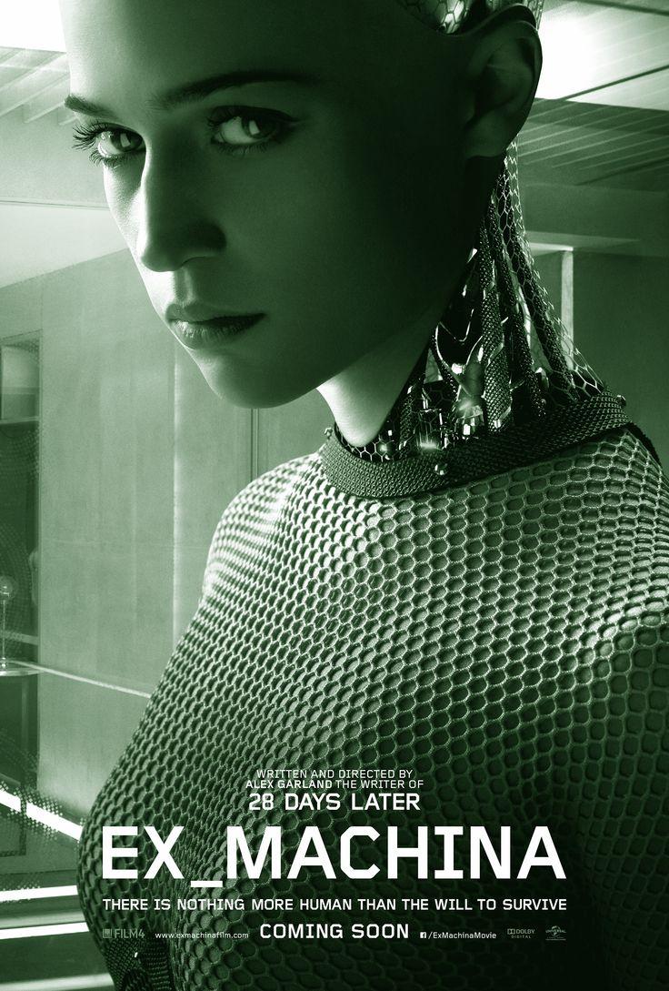 EX_MACHINA is een Britse sciencefiction thriller uit 2015, geschreven en geregisseerd door Alex Garland. Met in de hoofdrollen Domhnall Gleeson, Alicia Vikander en Oscar Isaac.
