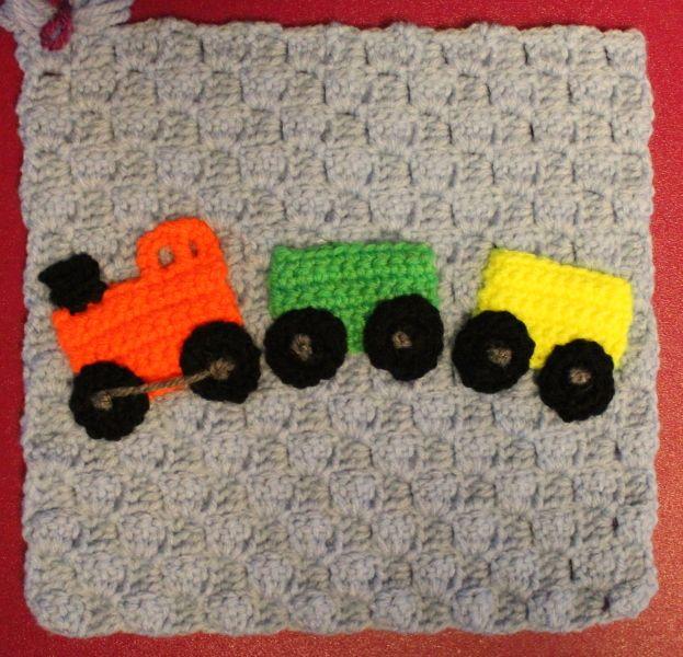 Knitting Pattern For Toy Train : Meer dan 1000 idee?n over Gebreide Baby Dekens op Pinterest - Babydekens, Bre...