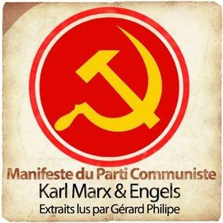 Karl Marx & Engels : Manifeste du Parti Communiste - Gerard Philipe