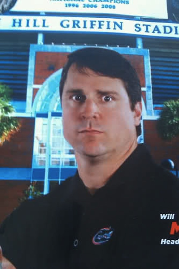 The introduction of the Will Muschamp stare in his football poster for his inaugural season. For news on Gator Football, Football recruiting, and more visit GatorCountry.com