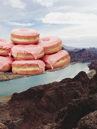 Donut mountain! #the2bandits #inspirationstation