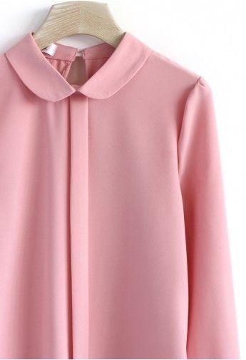 Loving Blouse in Sakura Pink