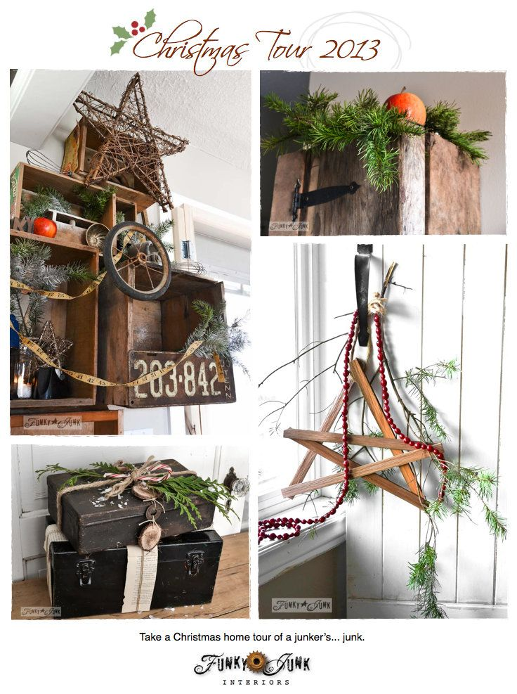78 best images about funky junk christmas on pinterest for Funky junk home decor newfoundland