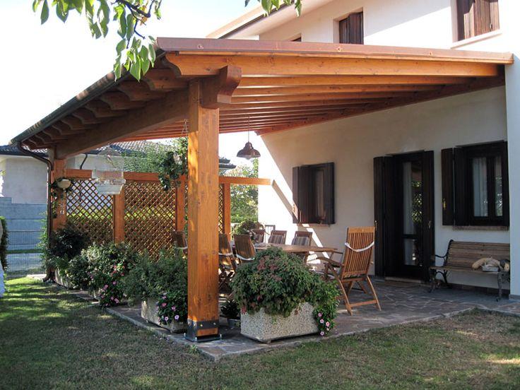 Oltre 25 fantastiche idee su copertura per veranda su for Tettoia inclinata del tetto