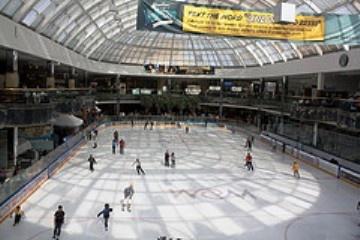 West Edmonton Mall's NHL Size Skating Rink!