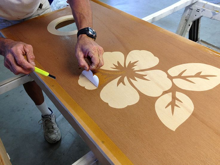DIY Cornhole Boards, Part 2: Reverse Stain — Central Coast Painting Contractor Advance Painting Serving San Luis Obispo, Arroyo Grande, Orcutt, Five Cities