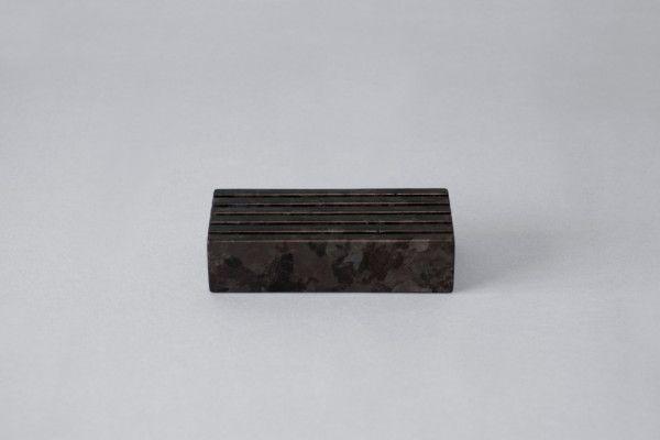 Desk organizer: Granite Brun Antique