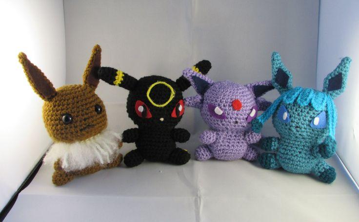Amigurumi Pokemon Eevee : 17 migliori idee su Evoluzioni Eevee su Pinterest ...