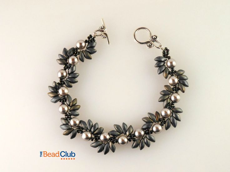 The Bead Club- Spiky Spiral Bracelet- Right-Angle Weave ...