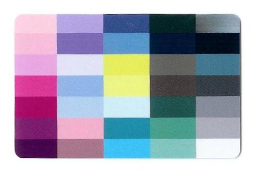 Colourcard zomertype
