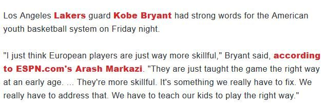 Learn about the pros and cons of AAU basketball. Kobe Bryant thinks AAU Basketball is stupid!