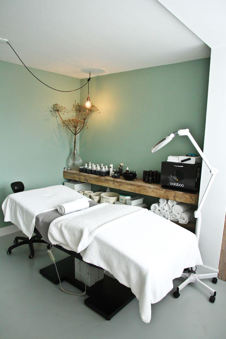 25 beste idee n over schoonheidssalon decor op pinterest schoonheidssalons salon interieur - Spa kamer ...