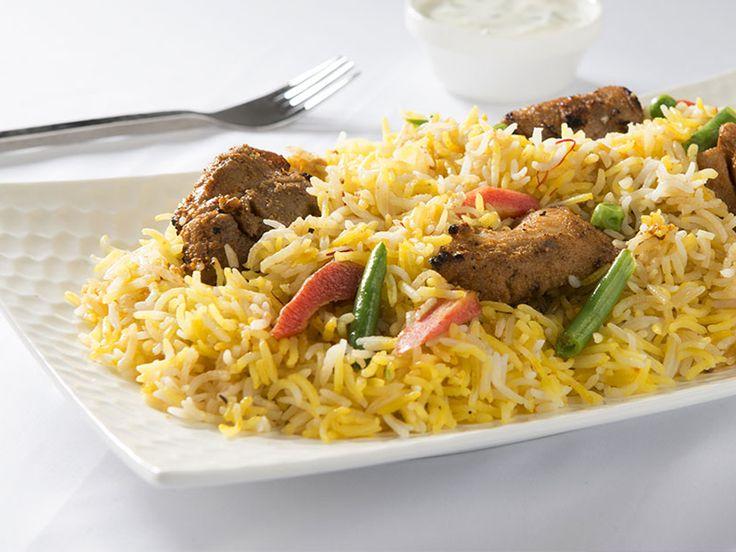 Hindistan –Biryani; Hindistan'a özel bir çeşit tavuklu ya da hindili pilavdır.
