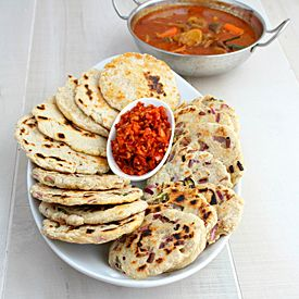 Curry and Comfort: Sri Lankan Coconut Roti (Flat Bread)