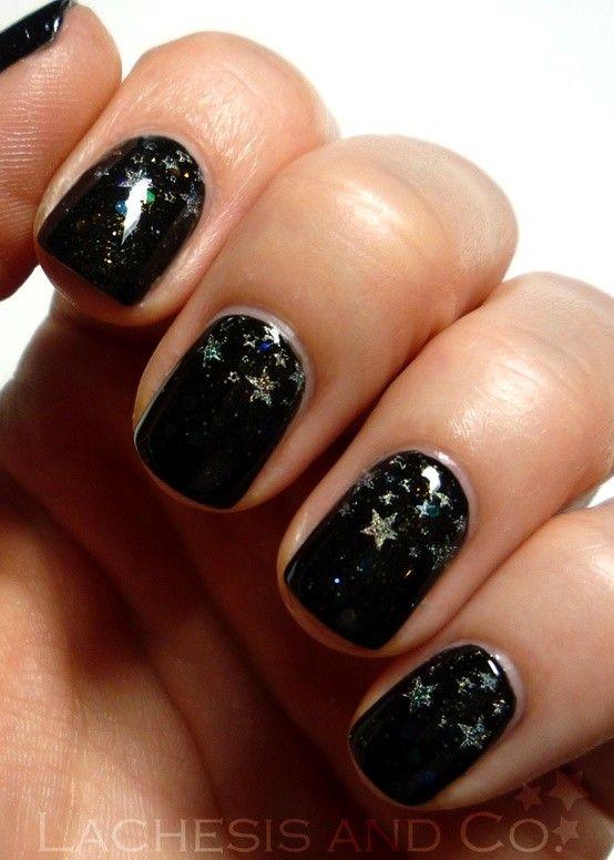 Nails, Nail Polish, Nail Art / Holo stars nail art. - 259 Best Star Nail Art Designs Gallery By Nded Images On Pinterest