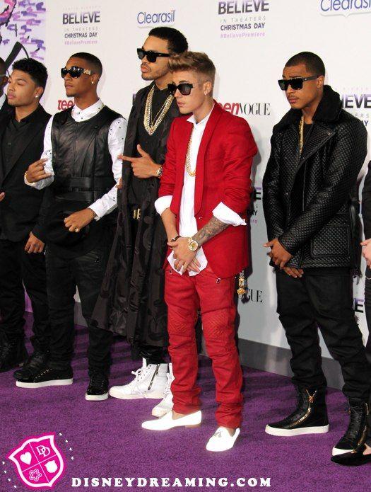 """Justin Bieber's """"Believe"""" movie premiere style"""