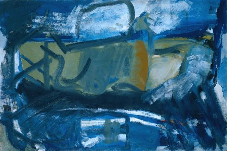 Peter Lanyon (1918‑1964) Zennor Storm 1958 Oil paint on board