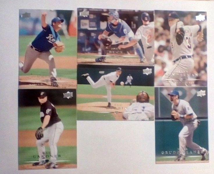 5 Series 1 2008 Upper Deck Baseball  Cards Jim Thome,Hank Blalock,Mark Buehrle