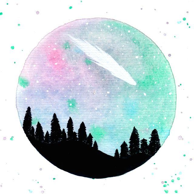 Desenho do Dia #270 - Meteoro - Soraia Casal