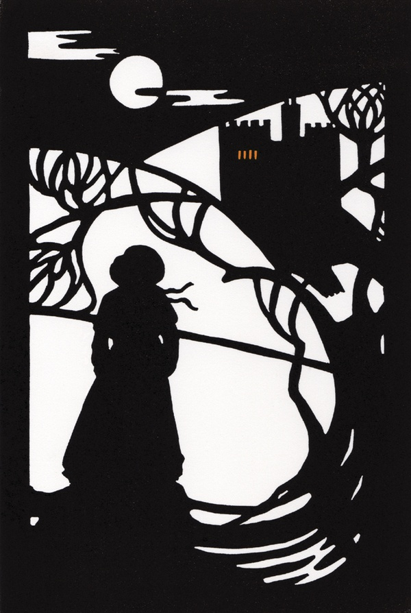 Book Cover Design Silhouette : Best images about silhouettes on pinterest tree