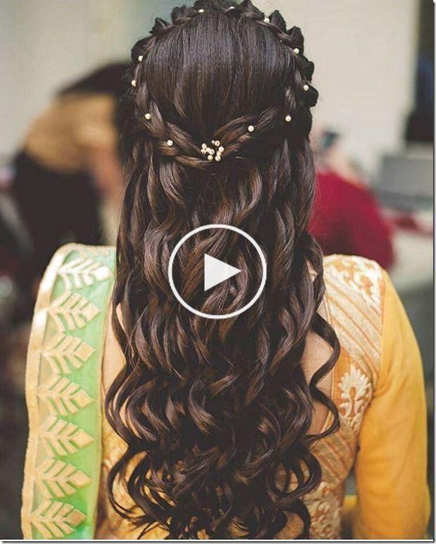 Coiffures De Mariage Indien Shor Coiffures De Mariage Indien Court Indian Wedding Hairstyles In 2020 Hair Styles Short Wedding Hair Indian Wedding Hairstyles