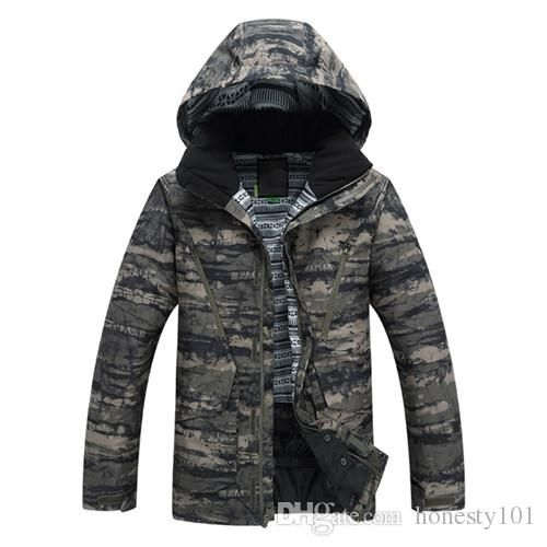 New Style Men Ski Jacket Winter Warm Ski Suit Men Snowboarding Suit Skiwear…