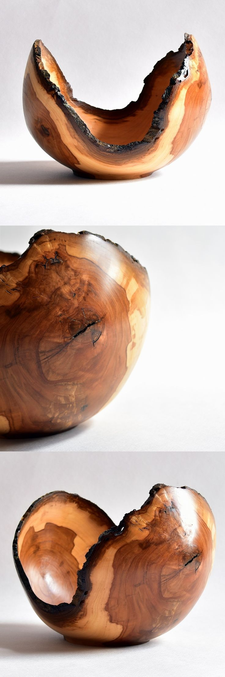 Wyjątkowa misa, toczona z mokrego drewna z jabłoni. Apfelbaum / Apple tree #donitza, #toczenie, #woodturning