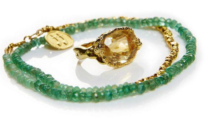 Ibiza sapphires by Jade Jagger
