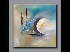Démonstration peinture abstraite (10) - Abstract acrylic painting - Althea… Plus