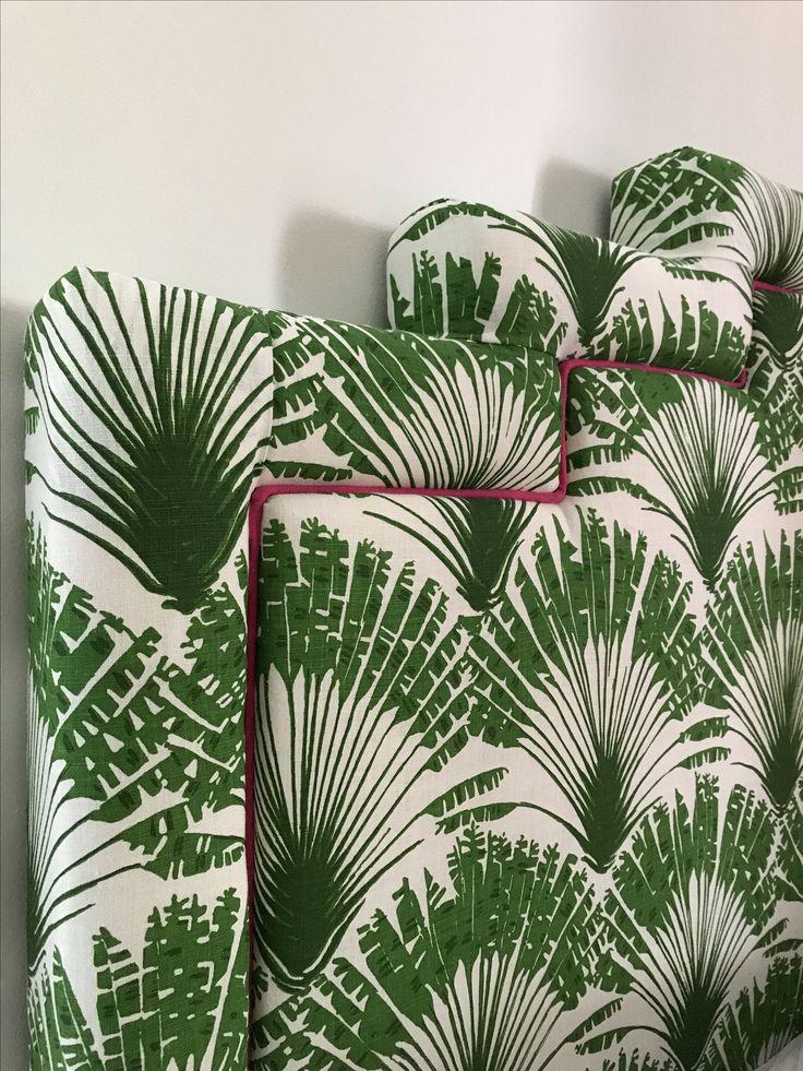Bespoke Samantha Todhunter Design 'Mimi Headboard'