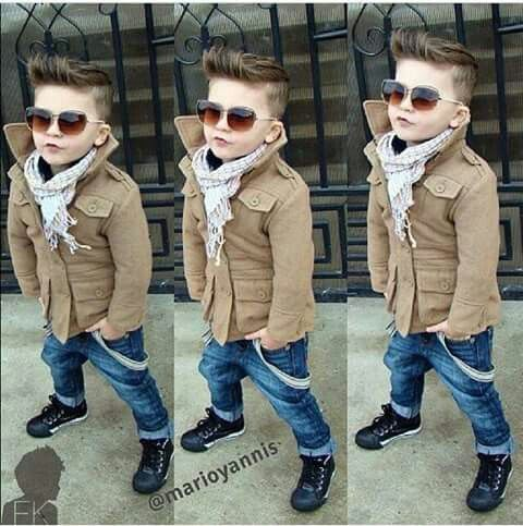 The new Edward Cullen! Claps for this little one :3 :)