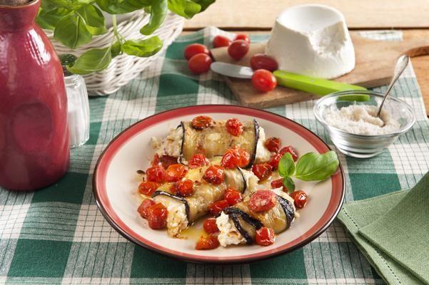 Pečené lilkové rolky – Galbani – Il gusto italiano