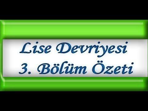 Lise Devriyesi 3. Bölüm Özeti