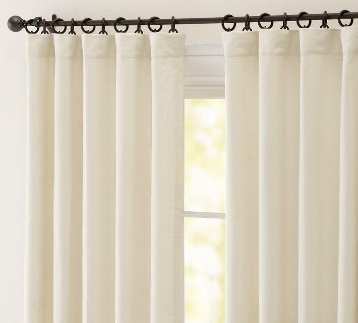 Sliding Glass Door Curtains Pottery Barn