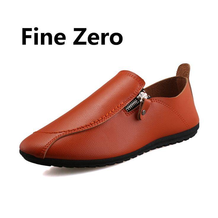 Hommes Chaussures en Cuir Printemps Automne Hollow-Out Mocassins Respirant et Slip-Ons Chaussures de Bureau Occasionnel Papa Chaussures Noir, Brun (Couleur : B, Taille : 43)