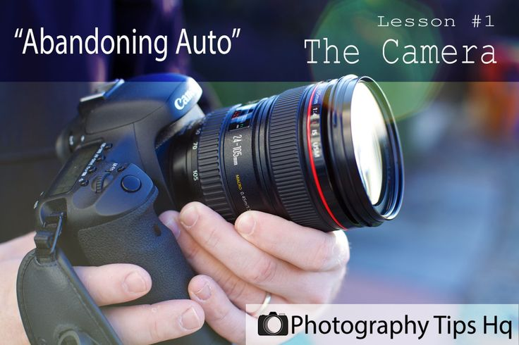 #PhotoTips - Your new DSLR camera beginner photography tips - Lesson #1 The Camera