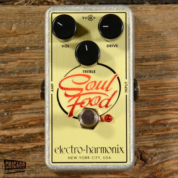 Electro-Harmonix Soul Food Overdrive MINT | Reverb