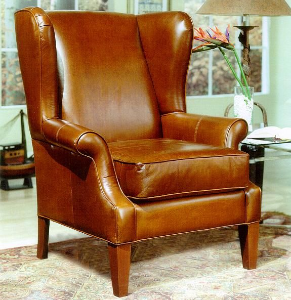 2290 Upholstered Wing Chair With Rolled Arms By Decor Rest Stoney Creek Furniture Living