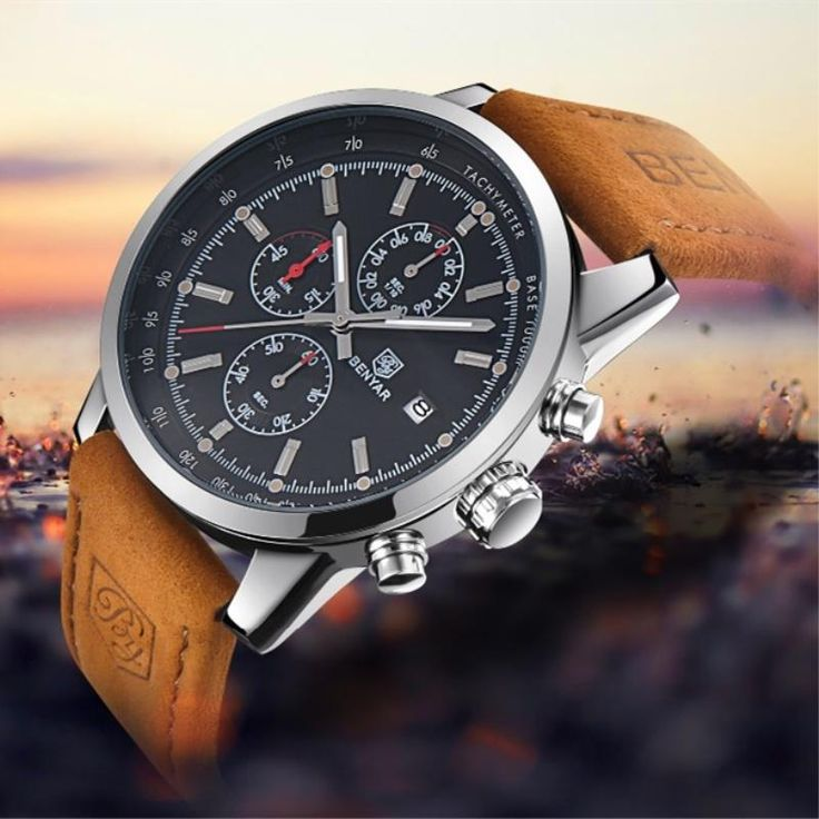 Men's Watch BENYAR 2017 top Brand Luxury Fashion Chronograph