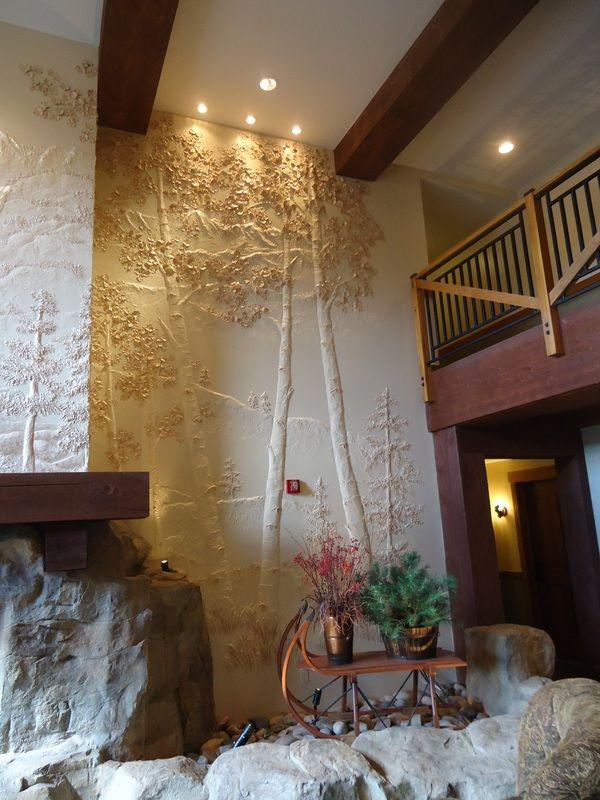 Sculpted Relief Murals - Transforming Walls Inc                                Norling Wakeman Studios