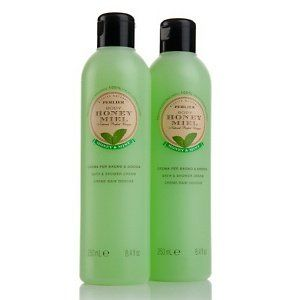 PERLIER HONEY & MINT BATH & SHOWER CREAM 8.4OZ by PERLIER. $29.99. 8.4 fl. oz. Honey & Mint Bath & Shower Cream. Provides an aromatic bathing experience. Moisturizes skin. MADE IN ITALY. Gently cleanses while leaving skin feeling smooth, looking radiant and smelling delicious. Pamper yourself in nature's garden with bath and body favorites derived from blends of natural ingredients. Flowers, botanicals and beeswax are cultivated on 150 acres of botanical gardens to...