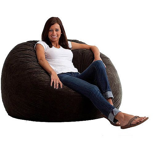Attractive Cheap Bean Bag Chairs For Teens | Large 4u0027 Fuf Comfort Suede Bean Bag Chair